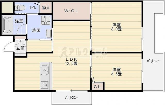 第2泰山ハイツ(河内国分駅) システムキッチン