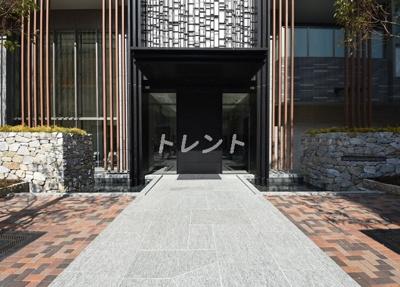 【エントランス】パークコート浜離宮ザタワー