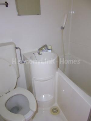 コーポ山本のコンパクトで使いやすいお風呂です☆