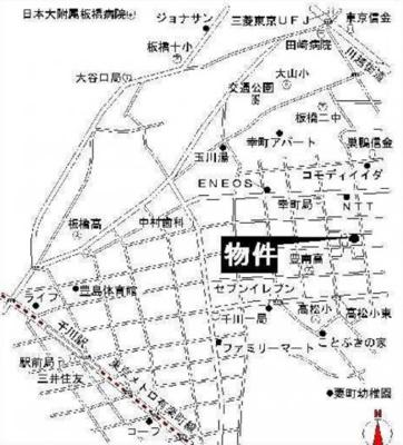 コーポ山本の地図☆