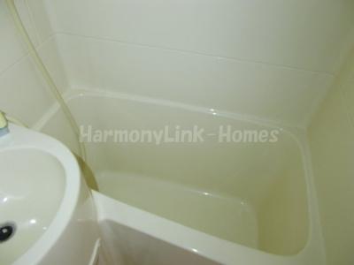 コーポ山本のコンパクトで使いやすいお風呂です