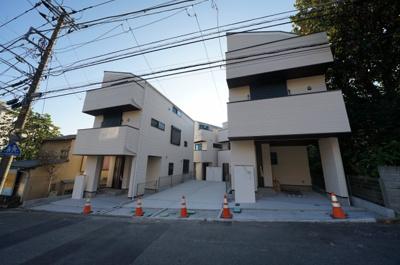 【外観】保土ヶ谷区峰岡町3丁目 全4棟 新築戸建て