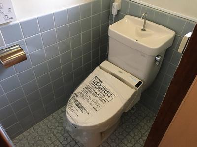 【トイレ】東五百住町テラスハウス 株式会社Roots