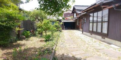 【庭】林田町【浜西】平屋住宅