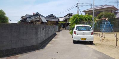 【前面道路含む現地写真】林田町【浜西】平屋住宅