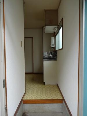 【玄関】ハイツ中央