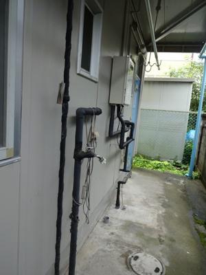 洗濯機置場(室外)