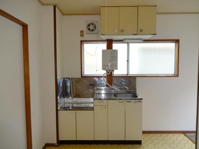【キッチン】ハイツ中央