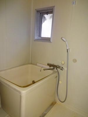 【浴室】ハイツ中央