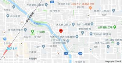 【地図】エミールコート西脇
