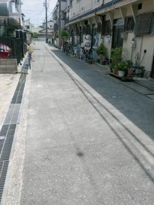 【前面道路含む現地写真】Freerife上坂部Ⅱ