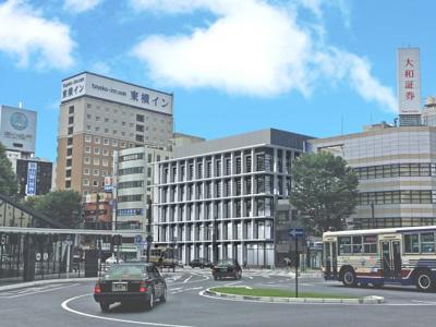 南側駅前広場からのイメージパース