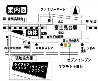 ライフピアフランセの地図☆