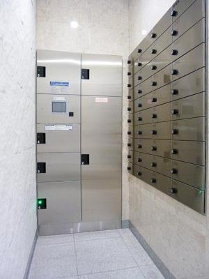 ルジェンテ・バリュ上野の宅配BOXです