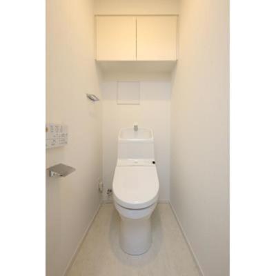 ルジェンテ・バリュ上野の温水洗浄便座です