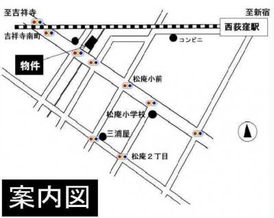 ライフピアセイントの地図☆