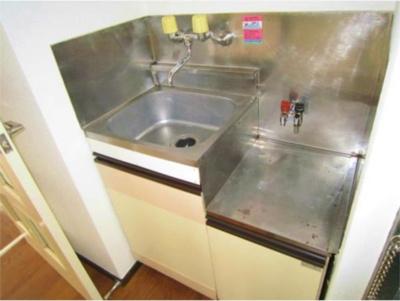 ライフピアセイントのキッチン(1口ガスコンロ設置可)☆
