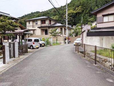 【前面道路含む現地写真】京都市左京区八瀬近衛町