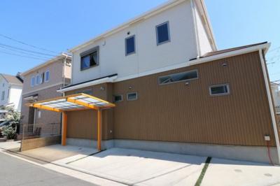 【外観】堺市北区金岡町 リフォーム済戸建住宅
