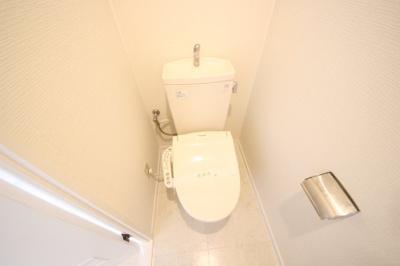 【トイレ】ロッコーマンション竹屋町