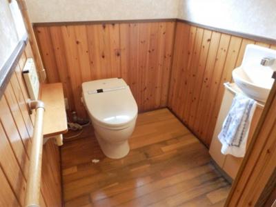 【トイレ】奥中古住宅