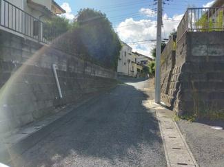 【前面道路含む現地写真】千葉市緑区土気町 売地 外房線 土気駅