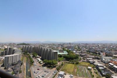 【展望】ファミールハイツ上野芝Ⅱ番館