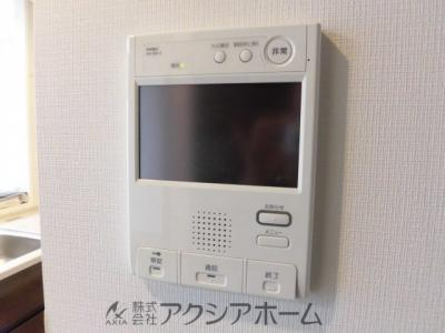 来訪者が確認出来るモニター付インターホン