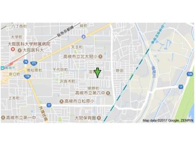 【地図】マンションベルウッド