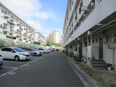 【駐車場】松が丘住宅18号棟