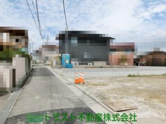 【前面道路含む現地写真】