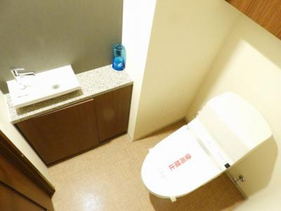 【トイレ】グランドメゾン上町台テラス