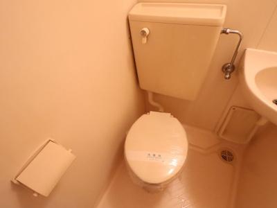 【トイレ】RX箕輪マンション