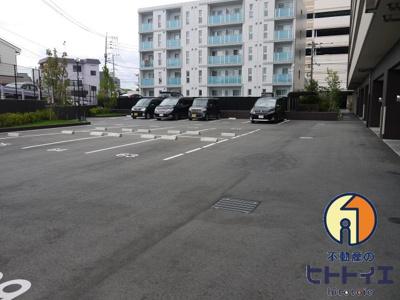 【駐車場】アルファスマート西国分Ⅱ