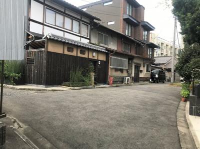 【前面道路含む現地写真】京都市東山区南瓦町