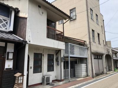 【外観】津山市橋本町 中古住宅6SDK+店舗