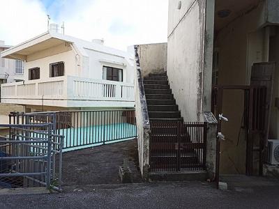 【外観】大城アパート貸店舗