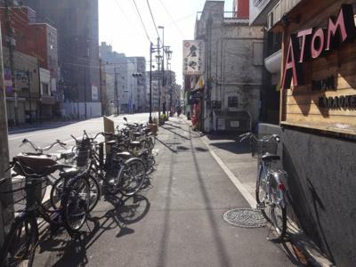 鶯谷マンション 物件前 尾竹橋通り沿いです