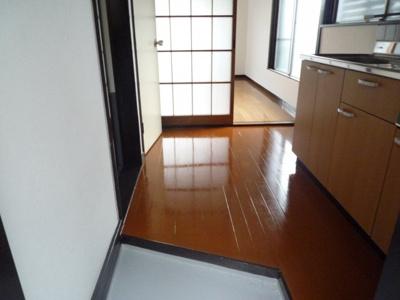 【玄関】荒金アパート