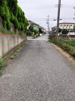 前面道路は4mとなっております。