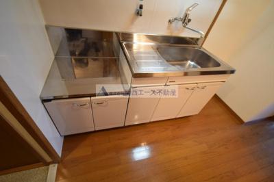 【キッチン】レジデンス石切