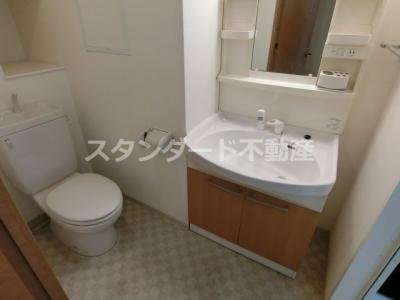 【洗面所】ビバーチェ鷺洲