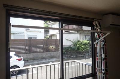 雨の日でも安心の室内物干完備☆!