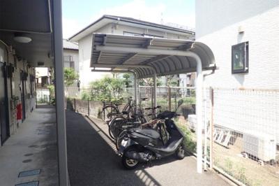 原付も相談可能の屋根付き駐輪場♪