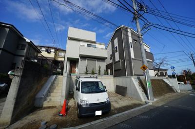 【外観】保土ヶ谷区上菅田町 全2棟新築戸建て【成約】