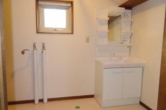 洗面脱衣室:リフォーム済