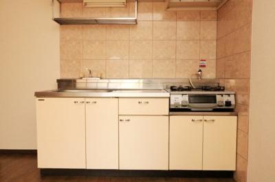 【キッチン】ホワイトレジデンス1