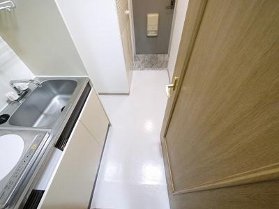 エレベーター付きで上階でも安心。