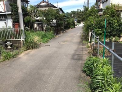 前面道路は通り抜けできる形状