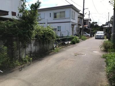 【前面道路含む現地写真】売地 つくばみらい市伊奈東 閑静な住宅街